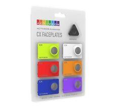 ACTIVEON CX  Assorted Color Faceplates (Set of 6) CA08FBS Accessories Camera