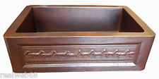 03 Apron Front Farmhouse Kitchen Mexican Copper Sink Horses