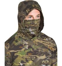 Under Armour Men's UA CoolSwitch Hunting Ridge Reaper Camo Hoodie 2XL XXL UPF30
