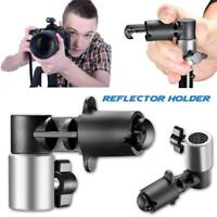 Video Photography Studio Backdrop Reflector Disc Holder Clip Clamp F/Light Stand