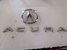 "ACURA  "" A "" CHROME LOGO SYMBOL EMBLEM CHROME OEM PART # 75700-SZ3-A200"