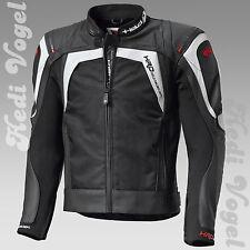 Held Leder/Textil mix Sportjacke Hashiro  / Takano schwarz/weiß Gr. 56 UVP 379 €