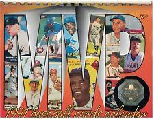 1991 Baseball Cards Calendar by Krause Publications wall calendar