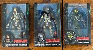 """NECA Predator 30th Anniversary Jungle Demon, Jungle Hunters 7"""" SEALED AUTHENTIC"""