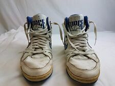 Men's Nike Delta Force Vintage 80's White Basket Ball Shoes size 9 1/2 Nike