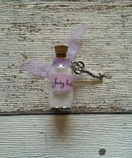 FAIRY DOOR ACCESSORIES FAIRY DUST/FAIRY WISH WITH KEY ACCESSORY LILAC 3 cm