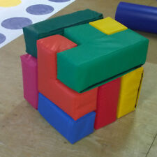 Soft Play Puzzle Block  ideal Hire, Home or Nursery Quality Foam/ PVC FREE POST