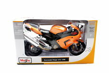 Maisto 1/12 Kawasaki Ninja ZX-10R Orange Motorcycles New In Box