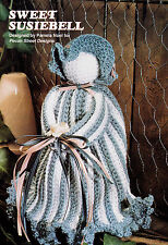 Crochet Pattern ~ SWEET SUSIEBELL DOLL Air Freshner Cover ~ Instructions
