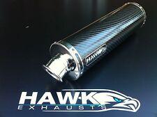 Kawasaki ZX7R ZX7-R Carbon Round Exhaust Can R/Legal