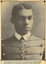 First Black West Point Graduate - Henry Flipper+Genealogy