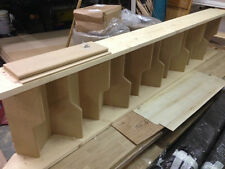 Pine/MDF Spacesaver Staircase - ( Loft Stairs) MADE TO ORDER- ANY SIZE