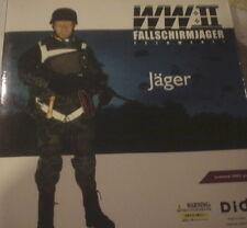 "DID 1/6 ""JAGER"" FALLSCHIRMJAGER WWII W/ PARACHUTE,- D80016 ON SALE TILL 7/28/201"