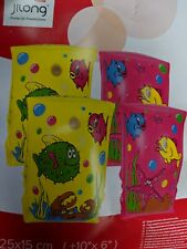 Yellow Fish Armbands Float Swimming Aid