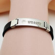 Kpop Bangtan Boys BTS WINGS Titanium Steel Bracelet Wristband Bangle Jewelry