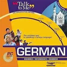 AURALOG Talk To Me GERMAN Language Course - Brand New