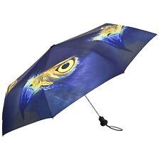 Taschenschirm mini blau Auge elegant praktisch Geschenk Damen Herren Adler 5813T