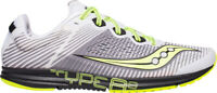 Saucony Type A8 Mens Running Shoes White Lightweight Road Racing Trainers