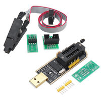 1sats CH341A 24 25 Series EEPROM Flash BIOS USB Programmer + SOIC8 SOP8 Adapter