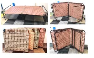 MANJA PORTABLE FOLDING SINGLE BED WATERPOOF FURNITURE OR  MATRESS