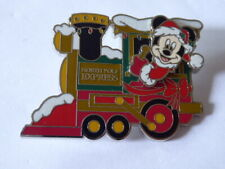 Disney Trading Pins Mickey Mouse North Pole Express Train