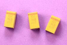10pcs Kemet 150uF 16v Tantalum Radial Capacitors, SMD SMT 20% Tolerance