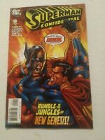Superman Confidential #9 January 2008 DC Comics Abnett Lanning Batista Smith