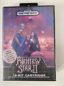 Phantasy Star II 2 - Sega Mega Drive Game - PAL
