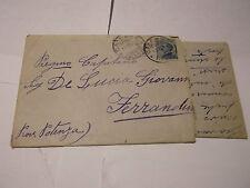 LETTERA PER CAPITANO DE LUCIA GIOVANNI FERRANDO POTENZA 1919 C4-759