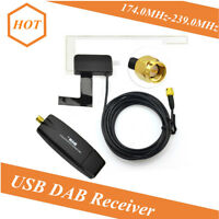 Car USB DAB/DAB+ Digital Radio Receiver Audio Broadcast Antenna For Android DVD