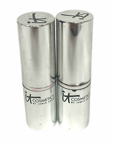 IT Rouge A Levres Lipstick Vitality Lip Flush/Stain (3.4g/0.11oz) NEW; YOU PICK!