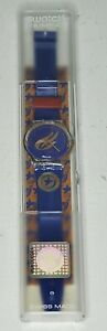 1996 Paralympics swatch watch star fire quartz swiss made holographic