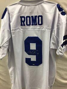 Autographed NFL Authentic Tony Romo Dallas Cowboys SIGNED JERSEY COA