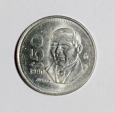 MEXICAN COIN $50 PESOS BENITO JUAREZ 1990