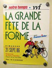 Chaland Affiche 30X40 Ed. Bayard-Presse 1986 TBE