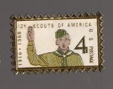 Pin's la poste (version américaine US Postale) / Timbre boy scouts of america