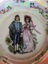 Vintage Norcrest Wash Basin - Victorian Couple - Homer Decor - Display Piece