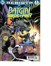Batgirl & The Birds of Prey #1 signed Yanick Paquette Shawna Benson DC REBIRTH