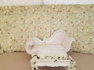 BRIDAL CHAISE LOUNGE  / WEDDING SOFA / LOVE SEAT  FOR HIRE