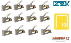 RAPID R23 FINE WIRE HAND STAPLE TACKER x 12