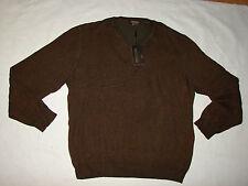 Lenor Ramano V-Neck Reversible 100% Cotton Sweater Men's Medium M Retails $150