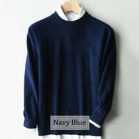 Sweater Winter Autumn Cashmere 80% Women Pullover Knitted Long Sleeve jumper