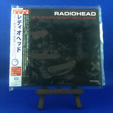 RADIOHEAD: No Surprises/Running From Demons JAPAN ONLY 1997 EP OOP TOCP-50354