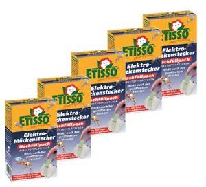 5 x Etisso Elektro Mückenstecker Nachfüllpack á 20 Plättchen Mückenschutz Mücken