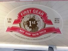 First Gear Diecast Truck