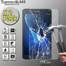 2 Pack Tempered Glass Screen Protector for Samsung Tab A 7.0  T280 Tablet