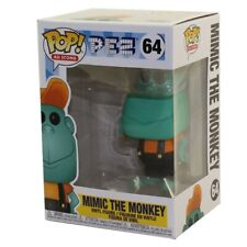 Funko POP! Ad Icons - PEZ Vinyl Figure - MIMIC THE MONKEY (Teal) #64 - New