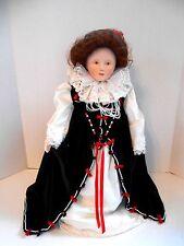 Franklin Mint Special Edition Heirloom Porcelain Queen Elizabeth Doll