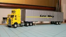 HO scale tractor trailer, Athearn, Lee Way
