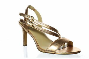 Naturalizer Womens Kayla Copper Sandals Size 6 (Wide) (1404142)